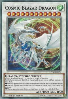 遊戯王 LED6-EN029 コズミック・ブレイザー・ドラゴン Cosmic Blazar Dragon (英語版 1st Edition ノーマル) Legendary Duelists: Magical Hero