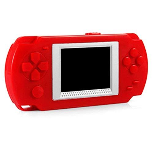 CUHAWUDBA Consola de Juegos de Caramelo Lindo con 200 + Juegos Clasicos Juegos de Fc para Ni?os Rojo