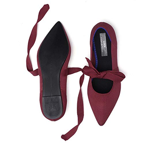 Top 10 best selling list for claret flat shoes