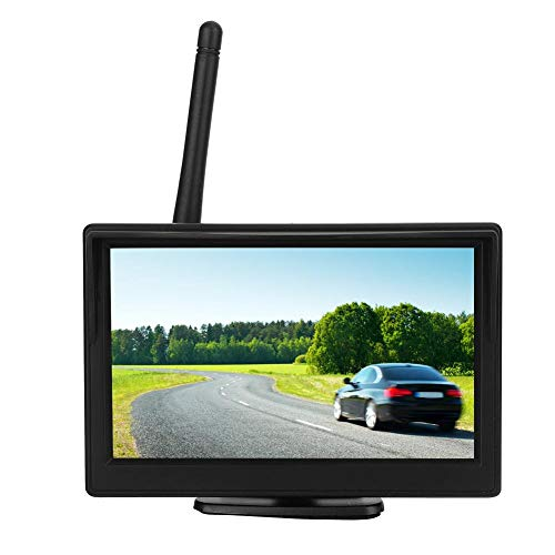 Telecamera per retromarcia-5in Monitor LCD per Auto ad Alta Definizione Telecamera per retromarcia Sistema di parcheggio in retromarcia per Veicoli Auto