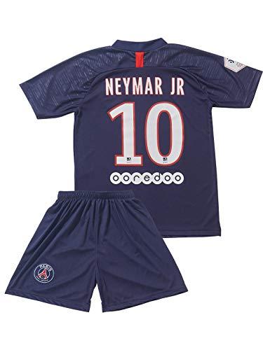 ATB PSG 2019/2020#10 Neymar Heim Kinder Fußball Trikot und Shorts mit Socken Kinder und Jugend Größe