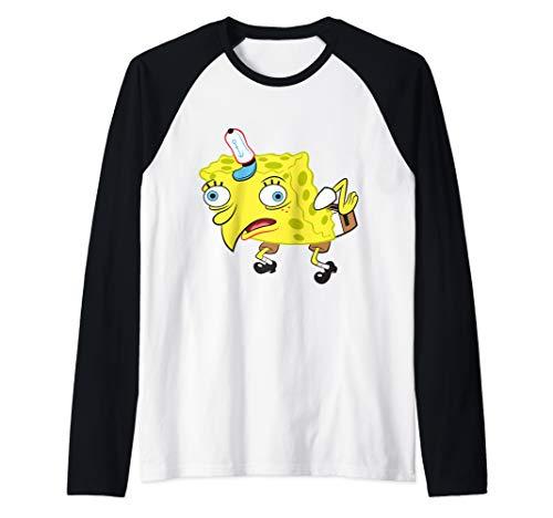 Spongebob Meme Isn't Even Funny Raglan Baseball Tee