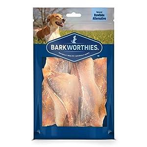 Barkworthies 5-to-7-inch Beef Scapula Dog Treats (8 oz. Bag) – High Protein, Single Ingredient, Rawhide Alternative Healthy Dog Chews – Natural Rawhide Alternative – Promotes Dental Health