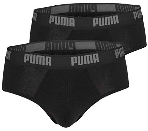4 er Pack Puma Brief Basic Men Herren Pant Unterwäsche Unterhose (200 - black, XL)