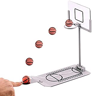 Oilp Miniature Desktop Basketball Game Set Funny Toy Nice Gift For You and Your Children-Relieve Stress BY YEHO Art Gallery