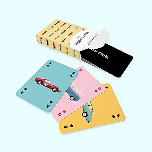 The Cool Club Edicion Coches | Baraja de Cartas Poker | 52 Cartas españolas | Cartas