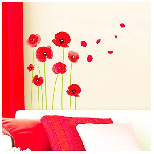 Les Trésors De Lily [M2665 - Planche de Stickers 'Coquelicots' (20x70 cm)