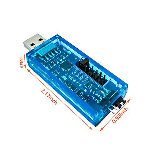 DSD TECH SH-U09A1 USB-zu-TTL-Adapter unterstützt 1,8 V 2,5 V 3,3 V 5 V Logikpegel