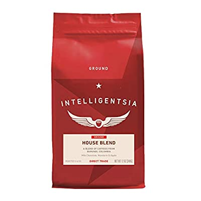 Intelligentsia House Blend, 12 Ounce - Ground Coffee