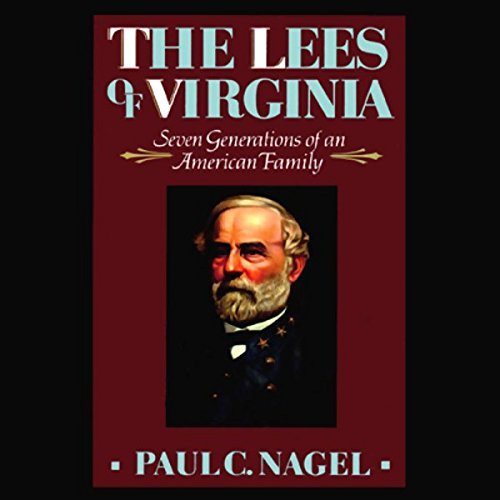 The Lees of Virginia audiobook cover art