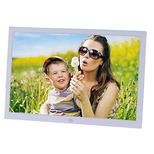 Digitaler Fotorahmen, 39,6 cm (15,6 Zoll), HD, LED, Tagesuhr, MP4, Video-Player,...