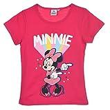 Minnie Mouse Niñas Camiseta De Manga Corta