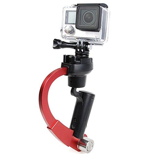 Inerzia a 3 assi giroscopio stabilizzatore w/GoPro impugnatura stabilizzatore GoPro Gimbal Stabilizzatore Video Supporto per fotocamere DSLR, GoPro Hero 4/3 +/3