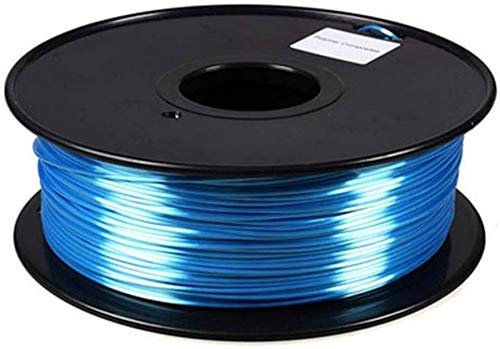 XHCP Drucker Filament PLA, Seide 3D-Druckmaterialien 1,75 mm Mehrfarben Profession Print Graffiti Pen Druckzubehör Modell DIY Farbe: Blau