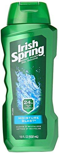 Colgate Pa Irish Spring Body Wash, Moisture Blast, 650 ml
