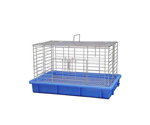 chez Pet Grand Chien Chiennes Boîtes, Affichage Hamster Guinée Pig fenêtre Cages Cages for Balcon, Parc, Cage Scolaire (Taille: 33 * 38 * 57CM) zhangxu (Size : 33 * 38 * 57CM)