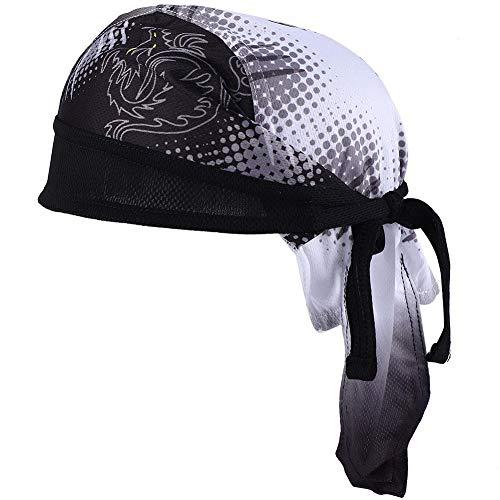 Nunafey Kopfbedeckungsschal, Reitstirnband, stilvolles Muster für Sportreiten