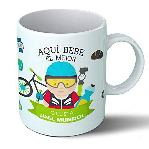 Taza Aquí Bebe el Mejor Ciclista del Mundo