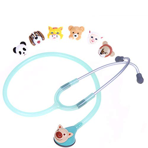 Honey Stethoskop, Tierkopfstethoskop, Süße Form, Guter Leitungseffekt, 6 Tierkopfformen,jellygreen