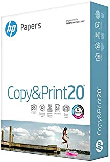 HP Printer Paper 8.5x11 Copy&Print 20 lb 1 Ream 500 Sheets 92 Bright Made in USA FSC Certified Copy Paper HP Compatible 20...