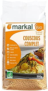 Markal Organic Whole Wheat Couscous, 500g - Pack of 1