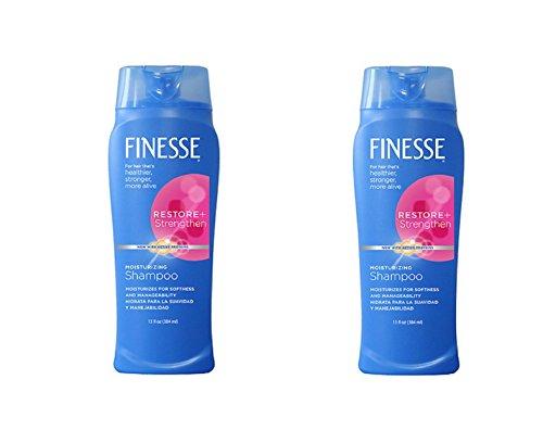 Finesse Restore + Strengthen, Moisturizing Shampoo 13 oz by Finesse
