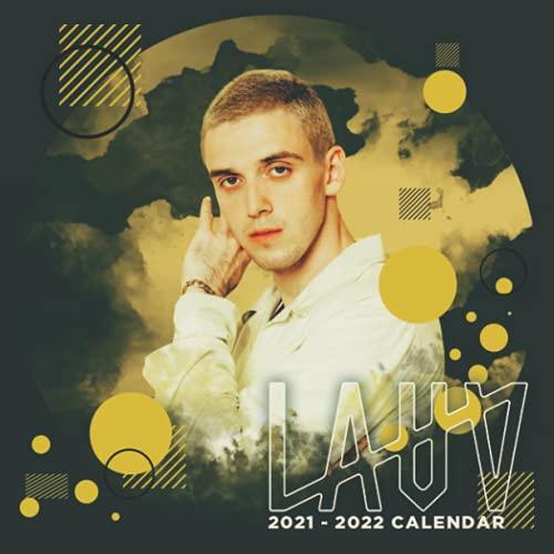 "Lauv 2021-2022 Calendar: Jul 2021 - Dec 2022, 18 Months Calendar Planner, 8.5"" × 8.5"", Premium Paper, Blank Block with Dates."