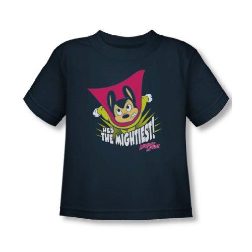 Mighty Mouse - - Toddler Le T-shirt plus puissant dans la marine, 2T, Navy