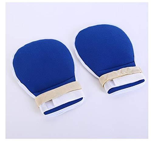 Komfortable Handgelenkbandagen 18,8 x 27,4 cm verstellbare Handkontrollhandschuhe, 1 Paar wiederverwendbare Sicherheitsprotektoren, Fingerkontroll-Handschuh, einfach zu bedienen 1,13