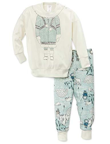 CALIDA Mädchen Toddlers Snow Zweiteiliger Schlafanzug, Weiß (Star White 910), (Herstellergröße:116)