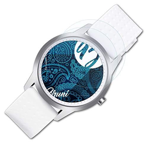 Bruni Película Protectora para Lenovo Watch 9 Protector Película, Claro Lámina Protectora (2X)