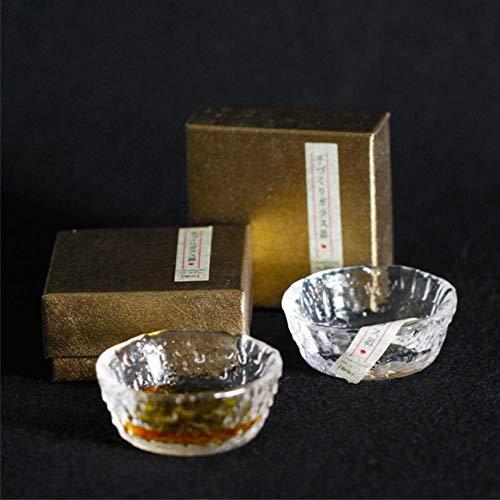 Primera taza de whisky de nieve japonesa con olor a fragancia, caja de regalo pequeña, licor de brandy y licores, sabor a champán, copa de vino, bar en casa