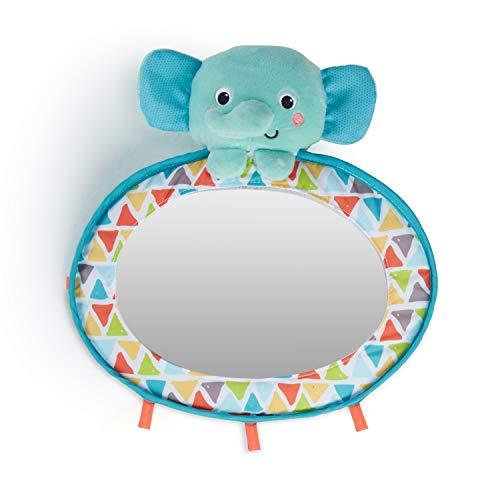 Bright Starts, See & Play, Babyspiegel für das Gitterbett oder Auto, mit Schlaufen zum Anbringen weiterer Spielsachen