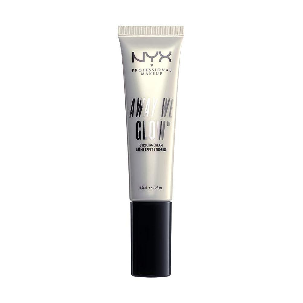 不実約眠いですNYX(ニックス) アウェイ ウィー グロー ストロビングクリーム 01 カラー ブライト スター