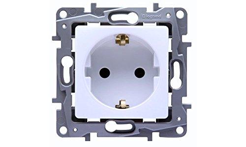 LEGRAND Niloe 664531 - Enchufe con protección de Contacto (3 Unidades)