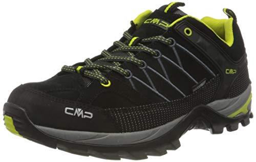 CMP Rigel Low Trekking Shoes WP, Senderismo Hombre, Negro, 47 EU