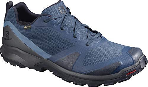 Salomon Herren Trail-Running-Schuhe, XA COLLIDER GTX, Farbe: Blau (Dark Denim/Ebony/Navy Blazer), Größe: EU 41 1/3