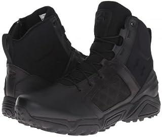 [アンダーアーマー] メンズ 男性用 シューズ 靴 ブーツ 安全靴 ワーカーブーツ UA Tac Zip 2.0 - Black/Black/Black [並行輸入品]