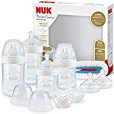 NUK Nature Sense Perfect Start set biberon | 0-18 mesi | 4 biberon con sistema Anti-Colica...