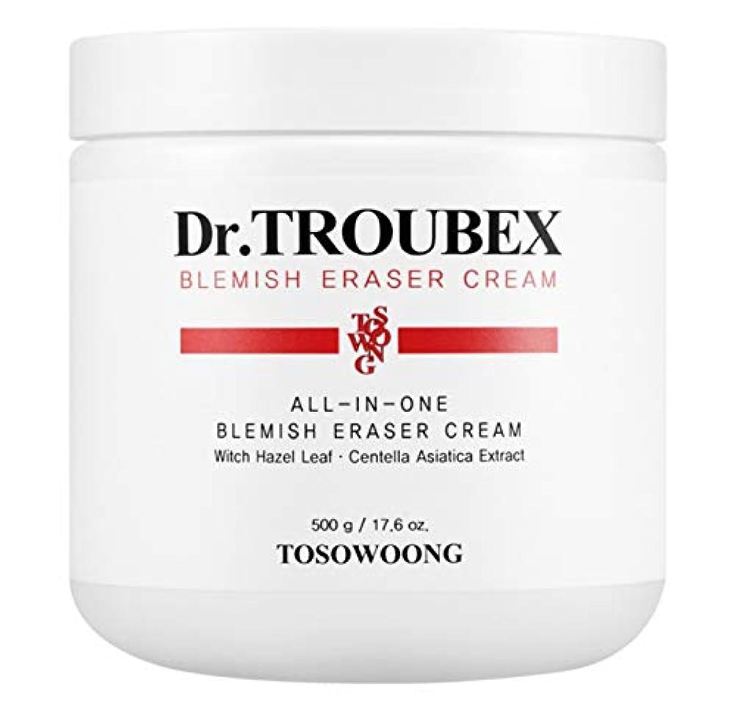 クロールテメリティ取得する[TOSOWOONG] トソウンドクタートラベックスこのレーザークリーム 500g / TOSOWOONG DR.TROUBEX ERASER CREAM 500g [並行輸入品]