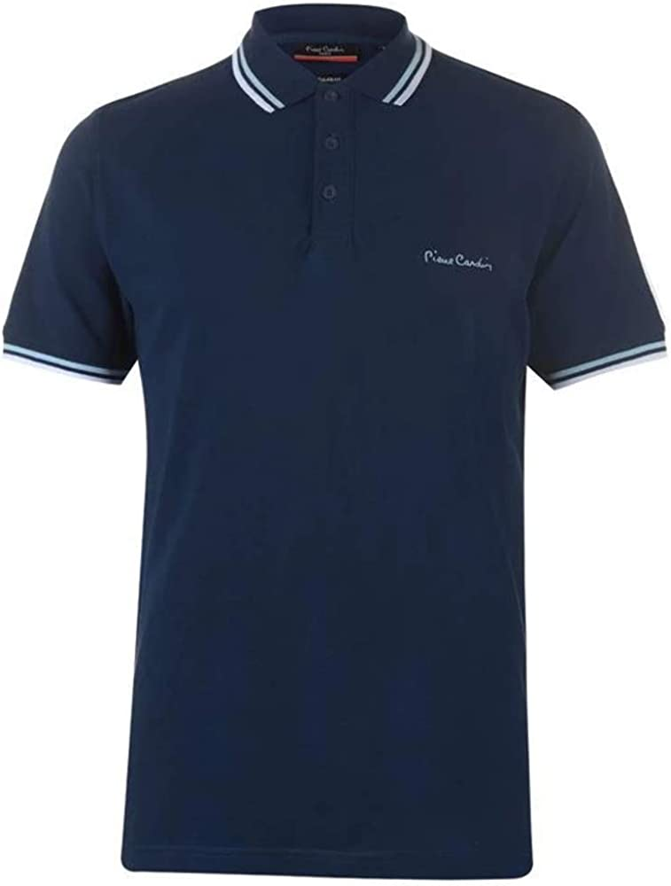 Pierre cardin polo maglietta a manica corta per uomo 65% poliestere 35% cotone B000398