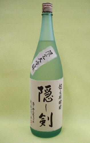 酒六酒造『京ひな  純米大吟醸 隠し剣』
