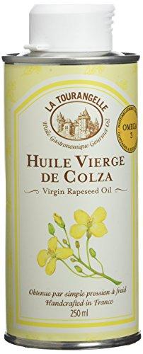 La Tourangelle - Huile vierge de Colza - Huile bien-être et équilibrée - idéale pour les cuissons douces et l'assaisonnement - 250ml.