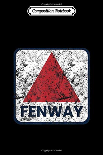 Composition Notebook: Fenway Sign Sports Weathered Vintage Baseball Journal/Notebook Blank Lined Ruled 6x9 100 Pages