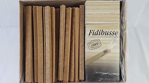 350 Stück Fidibus Ofenanzünder Anzünder Grillanzünder Premium Anzündstäbe + 1 x Brunner Dose für Fidibusse am Kamin zum Nachfüllen