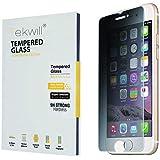 覗き見防止強化ガラス 液晶保護プライバシー フィルム iPhone 8 / iPhone 7 / 6s / 6 用