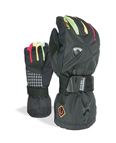 Level jongens handschoenen Fly met snowboard