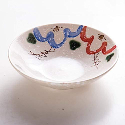 LanGuShi Panzi227 Cuenco de cerámica Ramen japonés Fideos Cuenco Norte cerámico Cuenco hogar Cuenco de arroz Grande Sopa de Sopa Restaurante a Juego Regalo