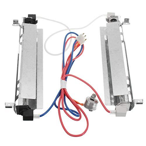 TuToy Koelkast Vervanging Ontdooiapparaat Assembly Onderdelen Voor Ge Hotpoint Rca Kenmore Wr51X443 Wr51X461