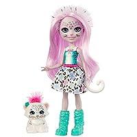 Découvrez la magie de la nature et de l'amitié avec ces adorables personnages Enchantimals! La poupée Sybill Léopard des neiges (15cm) est accompagnée de la figurine Flake. Elles se ressemblent beaucoup et sont inséparables. La poupée Sybill Léopar...